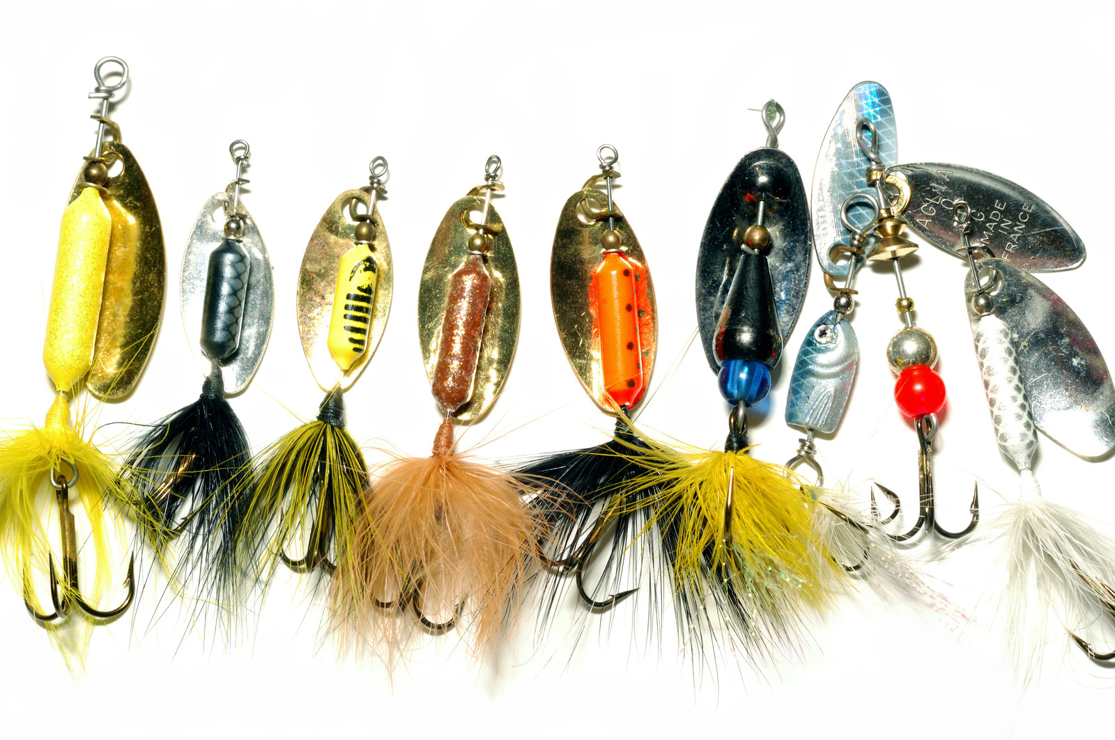 Freshwater salmon lures for Types of fishing lures