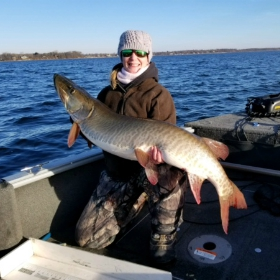 Minnesota autumn muskie fishing can be best of year
