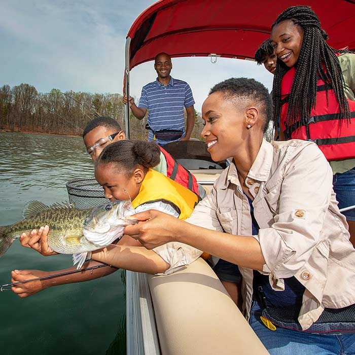 Our Places to Fish & Boat Map is your go-to resource for local opportunities and fishing spots near you.