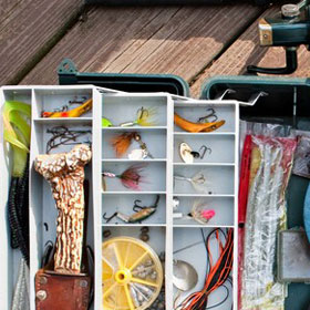 Fishing Tackle Boxes & Setup Tips