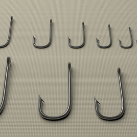 Learn more about fishing hook sizes