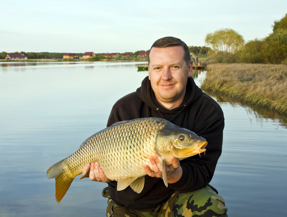 Learn how to catch carp in a lake or river