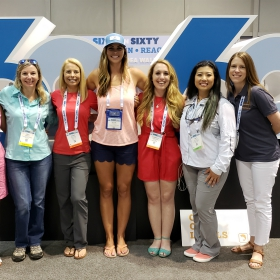"Female anglers kickoff ""Making Waves"" at ICAST 2018"