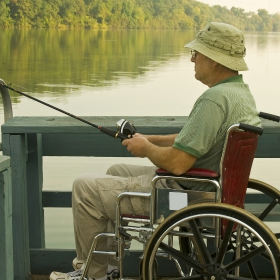 Opportunities for a Fishing License for the Disabled Angler