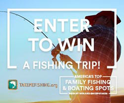 Popular Take Me Fishing Sweepstakes Back for Third Year