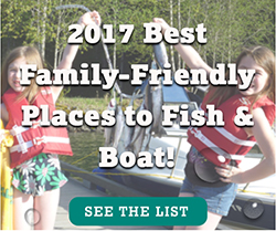RBFF Hooks Nation with 2017 Best Family-Friendly Places to Fish and Boat