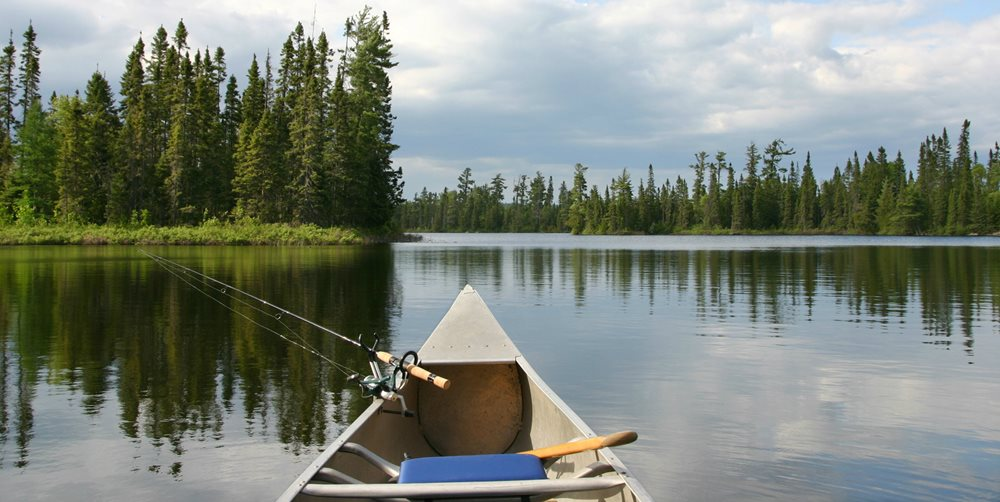 Learn about fishing canoes, and get canoe fishing tips