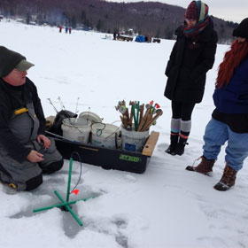 Winter Fishing and Hypothermia