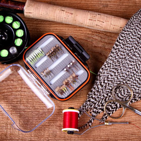 Fly Fishing Knots & Fly Tying Tools
