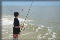 Saltwater Surf Fishing