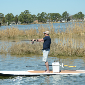 Types of fishing paddle boards