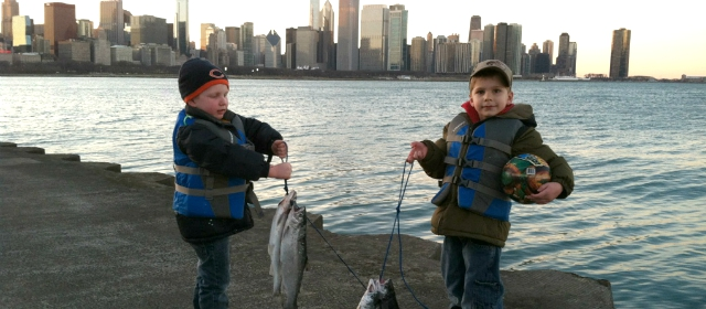Hot chicago river fishing places to go for Where to buy fishing license near me