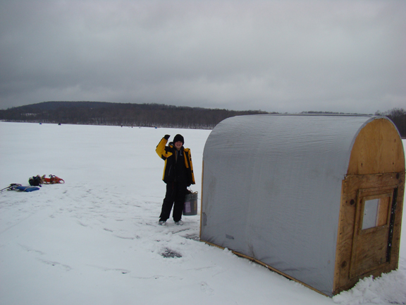 Tips for Cold Air Exposure for Anglers. And Fish!