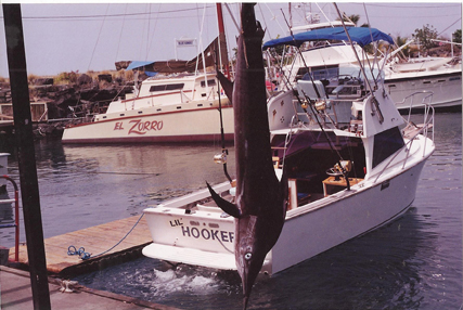 Fishing for Striped Marlin