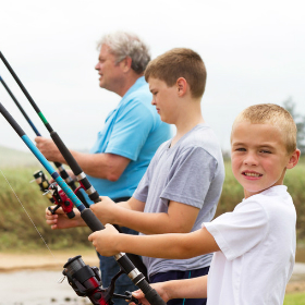 4 Chances to Make Family Fishing Memories