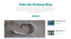 Take Me Fishing Blog Named #1 on the Web