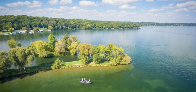 Nuestra aventura de pesca en green lake wisconsin for Green lake wi fishing