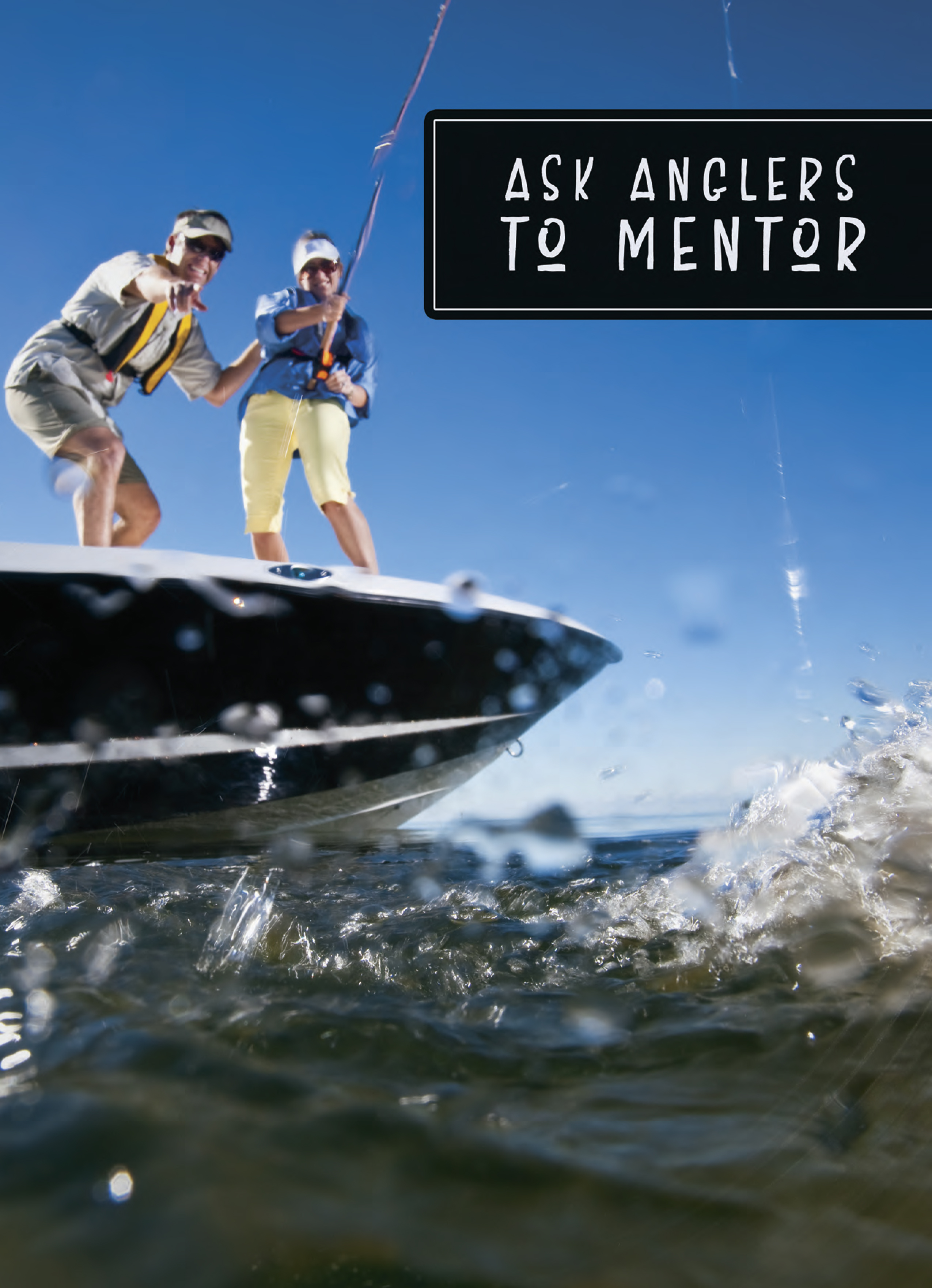Ask Anglers to Mentor