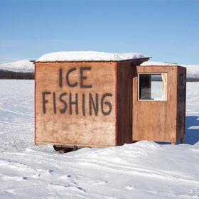 Ice Fishing Shanties & Essential Supplies