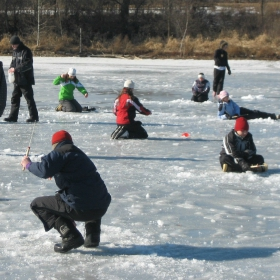 Get ready to go ice fishing in Minnesota