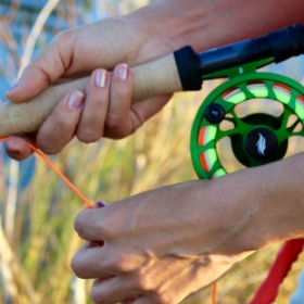 fly fishing equipment boils down to 9 essential pieces, including this fly fishing rod and reel