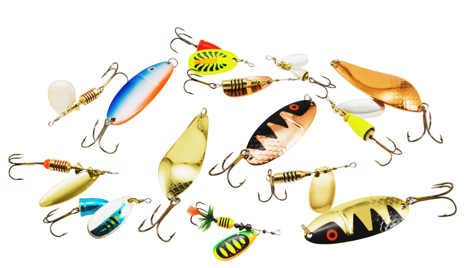 Freshwater fish bait - Fishing With Spoons