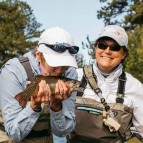 cancer patients fly fishing for recovery