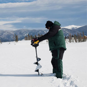 Preparing Your Ice Auger for Ice Fishing