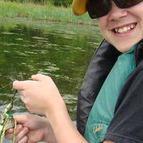 Fishing with children six steps to success best fishing for Fishing resorts near me