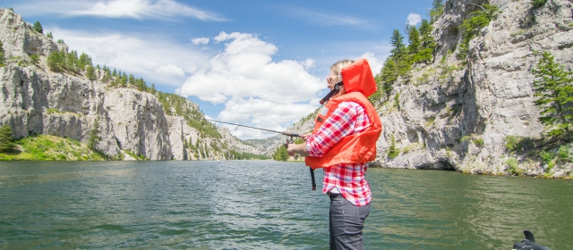 Nuestro viaje de pesca al lago holter en montana for Where to buy fishing license near me