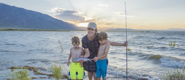 Catching fish and memories in the eastern sierra for Buy fishing license near me