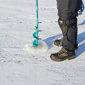 Ice fishing thickness guidelines